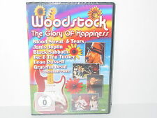 "****DVD-VARIOUS ARTISTS""WOODSTOCK-THE GLORY OF HAPPINESS""-2010 MCPS NEU/OVP****"