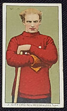 1910 - LACROSSE C60 - J. GIFFORD #66 - NEW WESTMINSTER - IMPERIAL TOBACCO CARD