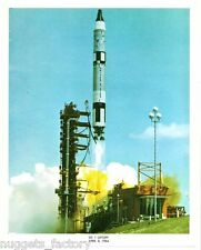 Photo Vintage Original de la Nasa GT 1 Liftoff ( 019 )