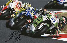 Scott Redding main signé go&fun Honda Gresini 12x8 photo 2014 MotoGP 12.