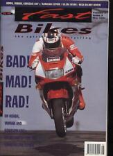 FAST BIKES MAGAZINE - May 1991