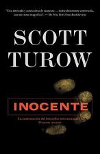 Inocente by Scott Turow (2011, Paperback)