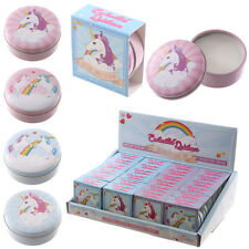 Cute Unicorn Designs Lip Balm In A Tin 4 Assorted Designs To Collect