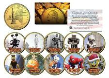 Macy's THANKSGIVING DAY PARADE NY Quarters 10-Coin Set SUPERMAN SNOOPY GARFIELD