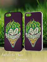 Batman Dark Knight Why So Serious Quote Joker Face Hard Phone Case Cover H660