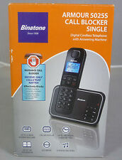 Binatone Armour 5025s CORDLESS Home Phone + Call Blocker & segreteria telefonica