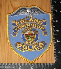 Poland Township State of Ohio Police Department Cloth Patch Only