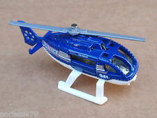 Matchbox RESCUE HELICOPTER from 5 Pack LOOSE Black POLICE