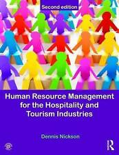 NEW Human Resource Management for the Hospitality and Tourism Industries ...