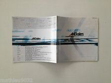 catalogue/publicité ACCLAIM pour SONY Playstation 1/Sega DREAMCAST