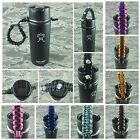 550 Paracord Hydro Flask Fifty-Fifty Handle USA made - You pick the color