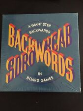 BACKWORDS Board Game RANDOM HOUSE OF CANADA AGES 10+ NEW SEALED 3+ PLAYERS
