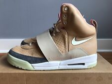 Nike Air Yeezy 1 Net Tan Size 10.5 Brand New And Deadstock