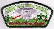 Great Salt Lake Council SA-151 2006 Woodbadge Asso CSP Mint Cond FREE SHIPPING