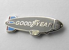 GOODYEAR BLIMP AIRSHIP DIRIGIBLE AEROSTAT LAPEL PIN BADGE 3/4 INCH