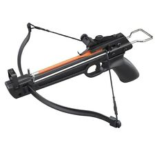 50 lbs Metal Aluminum Pistol Crossbow With 5 ABS Bolts 100 / 75 / 25 / 150