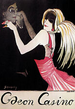Art Poster - Caeon Casino - German - Deco - Dance A3 Print