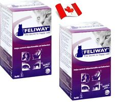 "2 x Ceva Feliway Refills 48 ml Bottles CANADIAN SHIPPER ""Get It Fast"""""
