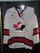 2004 Team Canada World Cup of Hockey 2004 Team Autographed Jersey