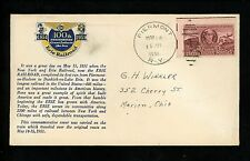 US Postal History Railroad Train Companies Erie on Board 5/14/1951 Piermont NY