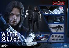 HOT TOYS 1/6 MARVEL CAPTAIN AMERICA CIVIL WAR MMS351 WINTER SOLDIER BUCKY BARNES