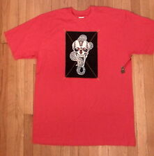 NWT BLAC LABEL, Red Graphic T-Shirt, Sz 3XL, Soft 100% Cotton (314)
