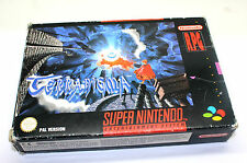 TERRANIGMA  SUPER NINTENDO SNES PAL  !! uniquement boîte !! ONLY BOX