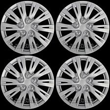 "16"" Set of 4 Wheel Covers Full Rim Snap On Hub Caps for R16 Tire & Steel Wheels"