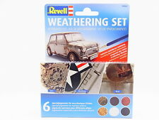 LOT 30703 | Revell 39066 Weathering Set Alterungs-Set 6 Spezialpigmente NEU OVP