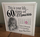 """Personalised extra large photo album, 360 6x4"""" photos, 60th birthday or any age?"""