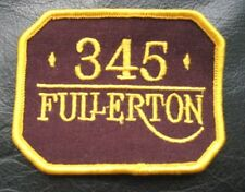345 FULLERTON EMBROIDERED SEW ON ONLY PATCH Chicago high rise building