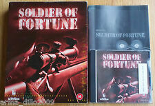 SOLDIER OF FORTUNE BIG BOX VERSION for PC COMPLETE by Activision