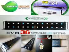 24x3W Beamswork EVO 36 aquarium LED light 90 -120cm coral reef marine high power