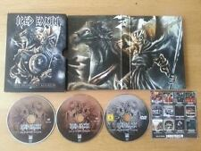 Iced Earth - Live In Ancient Kourion (DVD + 2 CD Set 2013 missing Blu-Ray)