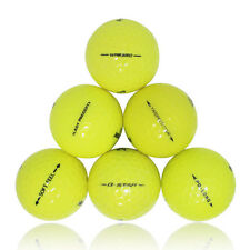 12 Premium Yellow Mint Used Golf Balls AAAAA