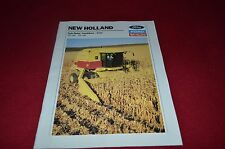 New Holland TR86 TR96 Corn Twin Rotor Combine Dealer's Brochure YABE