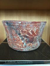 precolumbian mayan vase 1950s NJ collection auth. Eckholm lagal export from Mex.