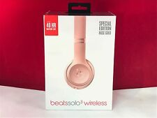 Beats by Dr. Dre Solo3 Wireless Headband Headphones - Rose Gold (100% Authentic)