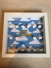 The Simpsons Lego Minifigure Display Frame