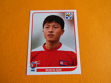 517 IN-GUK COREE NORD DPR PANINI FOOTBALL FIFA WORLD CUP 2010 COUPE MONDE