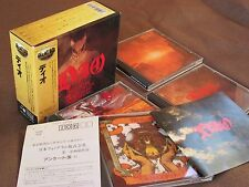 DIO Great Box JAPAN-ONLY 4CD BOX w/OBI+60p Booklet PHCR-3121~24 Black Sabbath Ex