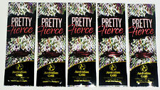 5 Sample Packets 2016 Pretty Fierce Bronzing Blend ColorGuard Tattoo tan lotion