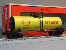 LIONEL SHELL UNIBODY SCALE TANK CAR #82858 o gauge train oil tanker 6-82858 NEW