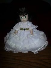 """Madame Alexander Vintage SCARLETT O'Hara Gone with the Wind Doll 7"""" White/Green"""