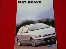 FIAT Bravo S SX GT HGT Prospekt von 1995