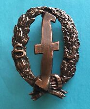 REXIST YOUTH BADGE BELGIUM 1943-45