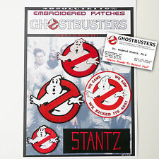 "GHOSTBUSTERS ""STANTZ"" Team Patches - Iron-On Patch Mega Set #024 - FREE POST"