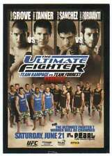 2015 Topps UFC Chronicles Fight Poster Card TUF 7 Team Rampage vs. Team Forrest