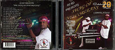 !@#$ DJ Ro - Swag Of New Orleans Compilation (CD/DVD) 2 Disc NO Rap G-Funk !@#$