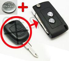 Transférer clé droite à PLIANTE! Coque PLIP Télécommande Peugeot 106 206 307 806